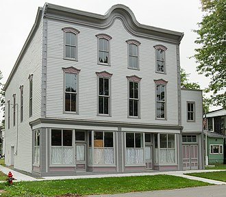 National Register of Historic Places listings in Jefferson County, New York - Image: Aubertine Building