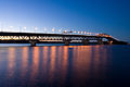 Auckland Harbour Bridge at night.jpg