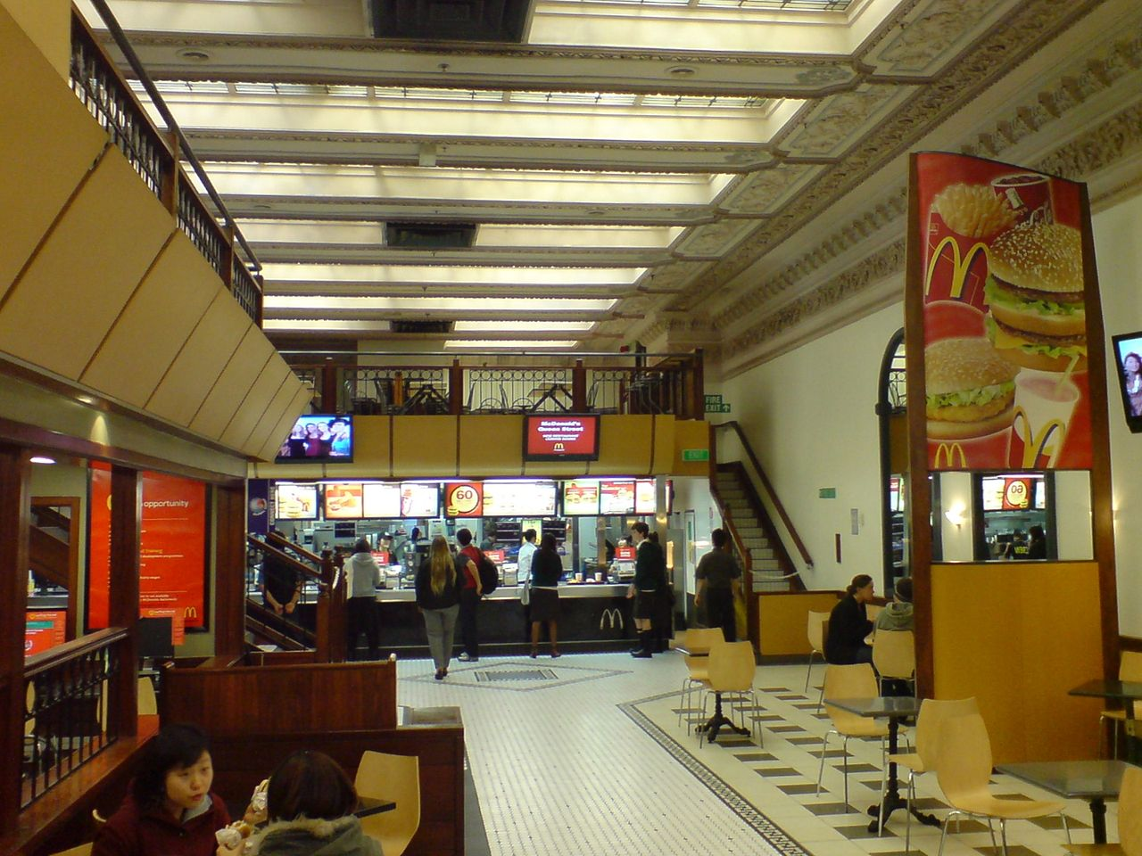 File Auckland Savings Bank Interior Mcdonalds Jpg