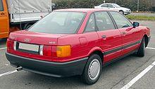 Audi 80 B3 rear 20081201.jpg