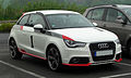 Audi A1 1.4 TFSI Ambition competition kit legends – Frontansicht, 27. April 2011, Velbert.jpg