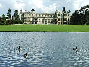 English: Audley End Audley End near to Saffron...