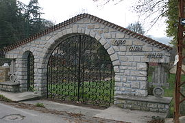 The gates of the Home Legionnaire in Auriol