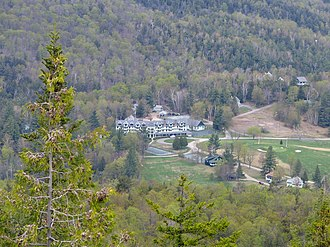 National Register of Historic Places listings in Essex County, New York - Image: Ausable Club, St. Huberts