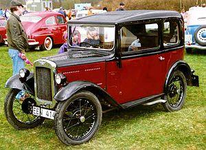 Austin 7 - Austin 7 Saloon 1931