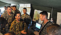 Australian army major general is welcomed by leaders of the 4th IBCT (A) 130723-A-ZX807-006.jpg