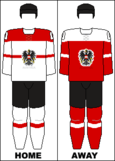 Austria national hockey team jerseys - 2014 Winter Olympics.png