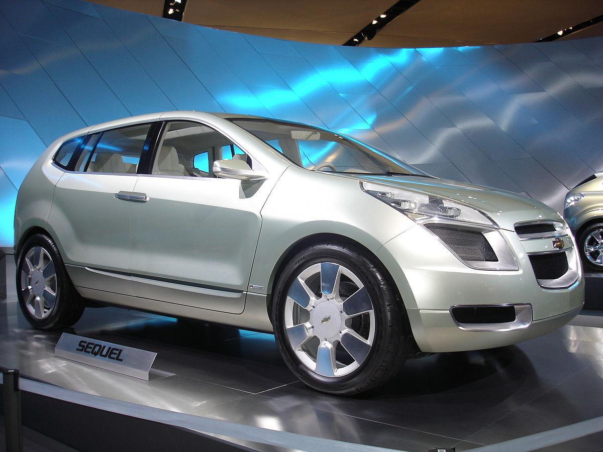 Chevrolet Sequel Wikipedia The Electric Car Concept Fnr