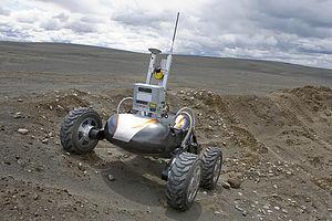 TriDAR - Scarab lunar rover
