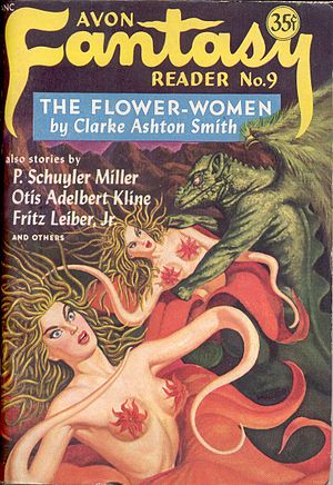 """Lost Worlds (Smith collection) - """"The Flower-Women"""" was later republished in a 1949 issue of Avon Fantasy Reader."""