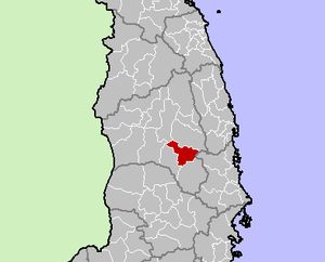Location in Gia Lai Province