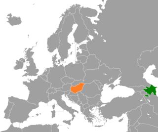 Azerbaijan–Hungary relations Bilateral diplomatic relations