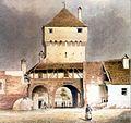 Böbel - Poarta Elisabetha la 1859.jpg