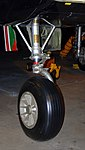 B-26C Invader nosewheel detail, National Museum of the US Air Force, Dayton, Ohio, USA. (46181320281).jpg