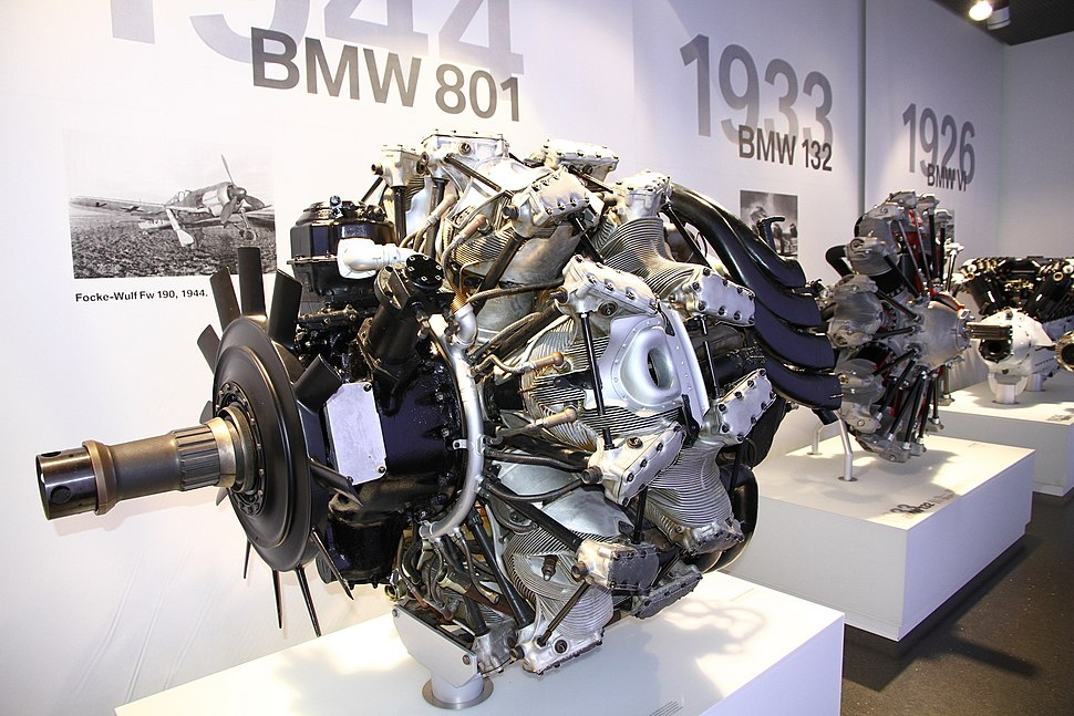 BMW 801 engine
