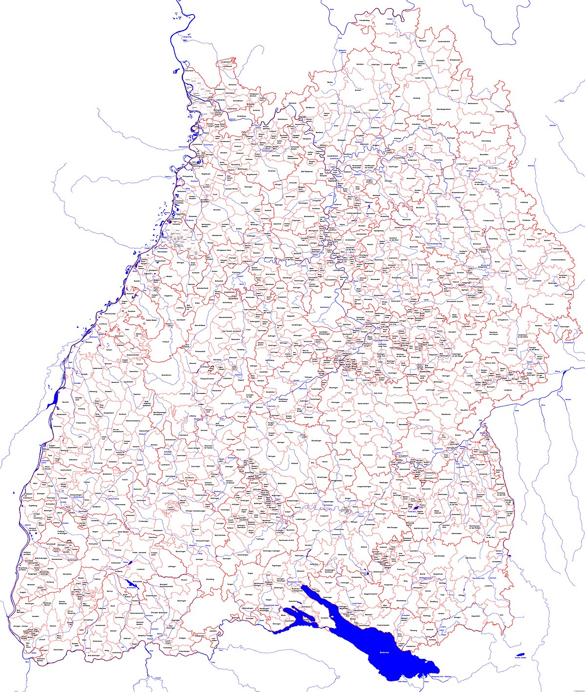 Liste Der Stadte Und Gemeinden In Baden Wurttemberg Wikipedia