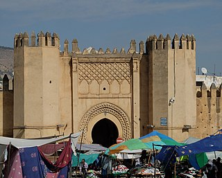 Kasbah An-Nouar walled district and former military enclosure in Fez, Morocco
