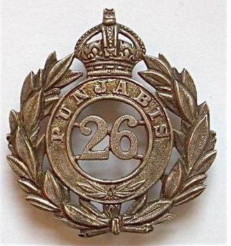26th Punjabis - Image: Badge of 26th Punjabis