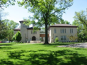 Urbana University - Bailey and Barclay Halls are two of the oldest buildings on the Urbana University campus.