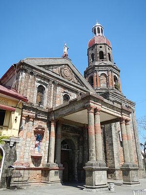 Saint Augustine Parish Church (Baliuag) - The church portico added during the curacy of Fr. Amado Paulino.