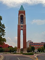 Ball state university bell tower