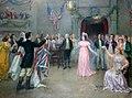 Ball after the battle of Craney Island, Washington DC 1812.jpg