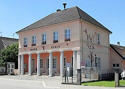 Ballersdorf, Mairie-école.jpg