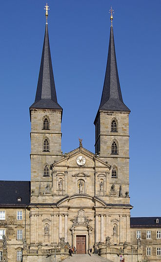 Leonhard Dientzenhofer - Image: Bamberg Sankt Michael BW 12