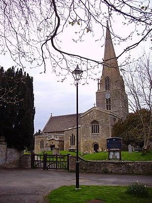 St Mary the Virgin parish church