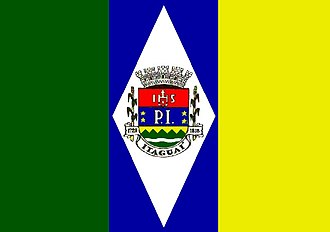 Triband (flag) - Image: Bandeira de Itaguaí