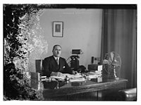 Barclay's Mr. Clarks, Director, at his desk LOC matpc.10352.jpg