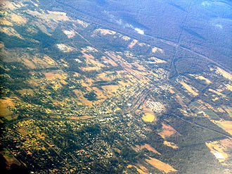 Bargo, New South Wales - Bargo aerial photo from north west