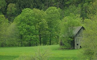 Tunbridge, Vermont - Tucker's Barn, Tunbridge Vermont