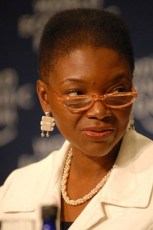 Valerie Amos, Baroness Amos at the 2007 World ...