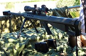Barrett M95 - The Barrett M95SP
