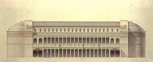 Basilica Ulpia - Reconstruction of the basilica