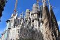 Basilique Sagrada Familia façade nord est Barcelone 10.jpg