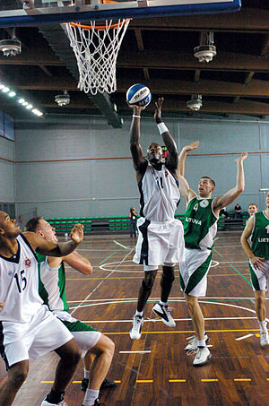 2003 Military World Games - The basketball competition underway in Catania