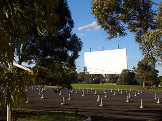 Drive-in theater - Bass Hill Drive-In Cinema, Sydney, Australia