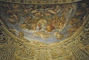 Sebastiano Filippi - Sebastiano Filippi called Bastianino, Last Judgment, fresco, 1577-1581, apse Ferrara Cathedral