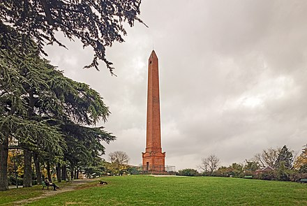 Monument commemorating the Battle of Toulouse (1814)