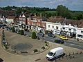 Battle High Street from Abbey gatehouse.jpg