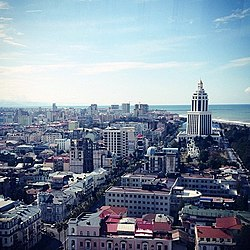 View of Batumi