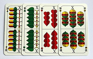 German-suited playing cards