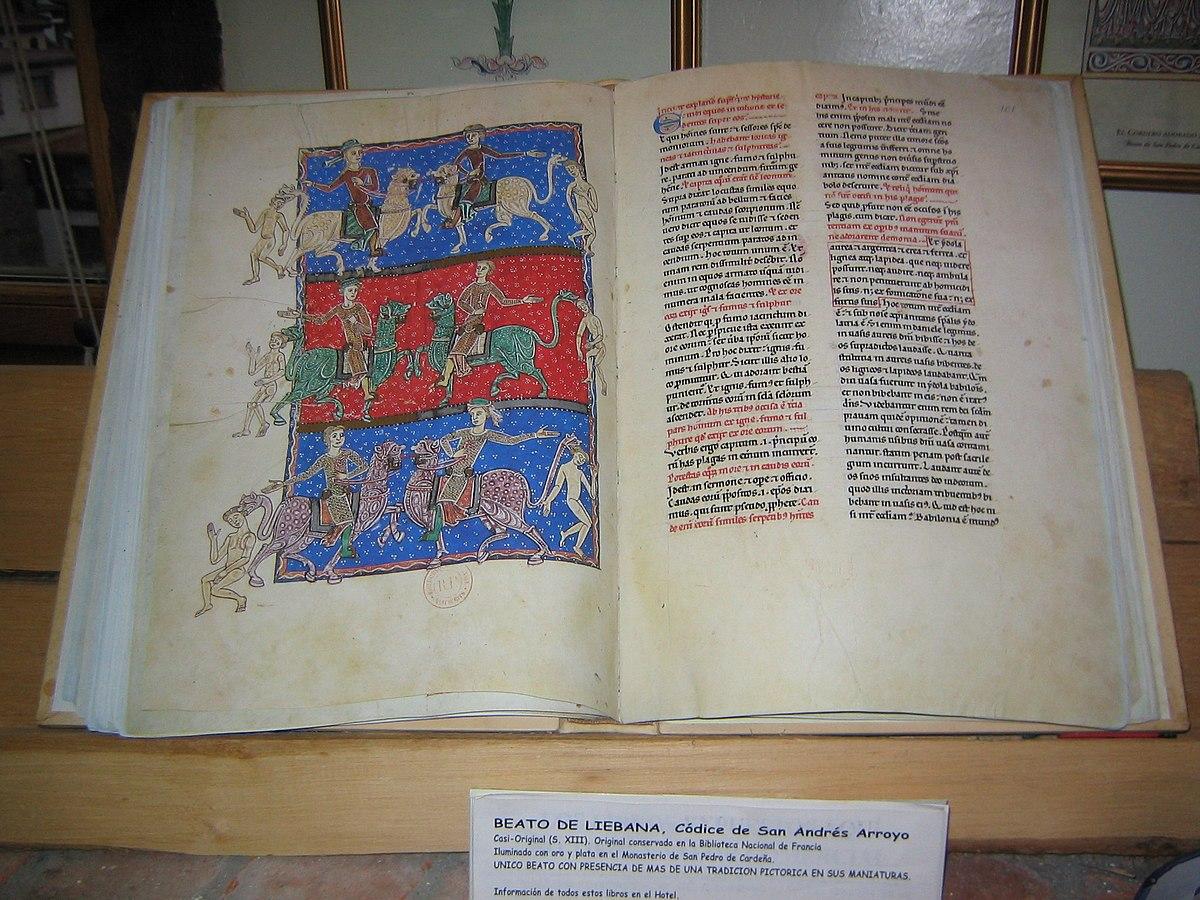Beato De Liébana Wikipedia La Enciclopedia Libre