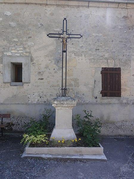 Beaurieux (Aisne) Croix de chemin