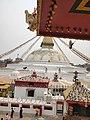 Beautiful Boudhanath ( boudha stupa ) on the lap of Himalayas. 02.jpg