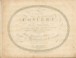 Image illustrative de l'article Concerto pour piano nº 4 de Beethoven