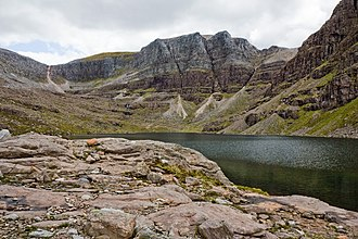 Beinn Eighe - The triple buttresses of Coire Mhic Fearchair.