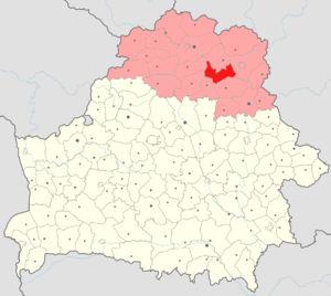 Beshankovichy District - Beshankovichy Raion in Vitebsk Region